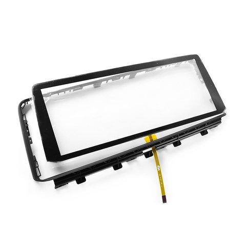 """Сенсорное стекло 10.2"""" с рамкой для BMW X5 2014– г.в."""