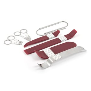 Car Trim and Radio Removal Tool Kit (10 Pieces, Polyurethane/Stainless Steel)