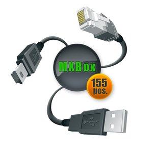 MXKey LED F-Bus Full Set of Cables (155 pcs.)