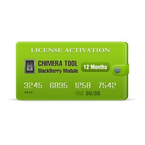 Chimera Tool BlackBerry Module 12 Months License Activation