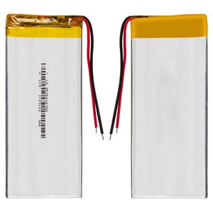 Battery, (97 mm, 36 mm, 3.0 mm, Li-ion, 3.7 V, 1200 mAh)