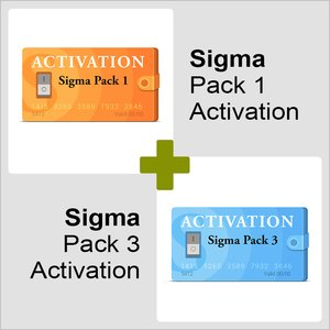 Sigma Pack 1 + Sigma Pack 3 Activations