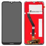 LCD compatible with Huawei Y6 (2019), Y6 Prime (2019), (black, with touchscreen, Original (PRC))