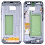 Parte media de carcasa Samsung G950FD Galaxy S8, morada, gris, orchid gray