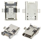 Коннектор зарядки Asus ZenPad 10 Z300C, ZenPad 10 Z300CG, ZenPad 10 Z300CL, 5 pin, micro-USB тип-B