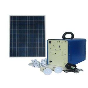 Портативная солнечная электростанция DC 100 Вт, 12 В / 50 Ач, Poly 18 В / 100 Вт