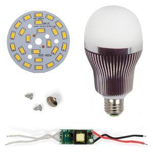 Комплект для сборки светодиодной лампы SQ-Q32 5730 12 Вт (теплый белый, E27)