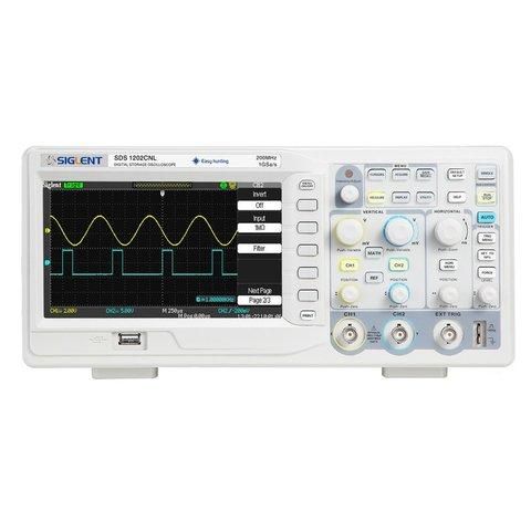 Цифровий осцилограф SIGLENT SDS1202CNL