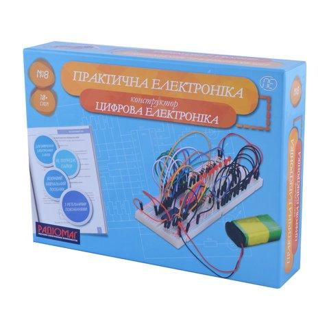 Конструктор Практична електроніка №8 Цифровая электроника
