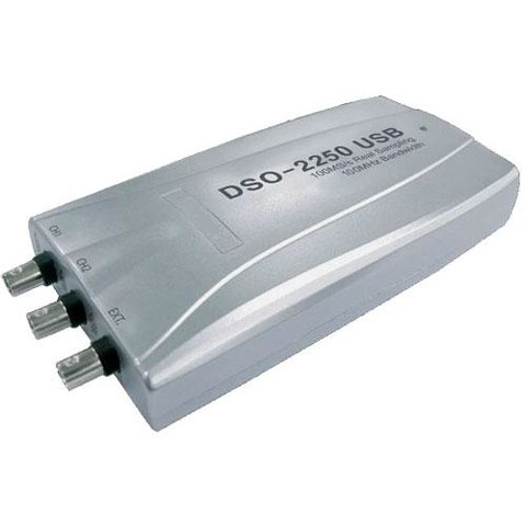 PC based Digital Storage Oscilloscope Hantek DSO 2250